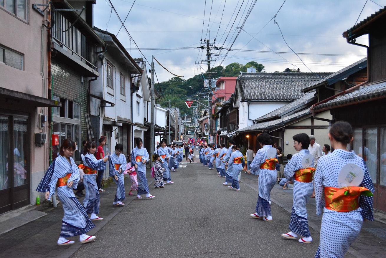 川本さんが参加するお祭りの写真
