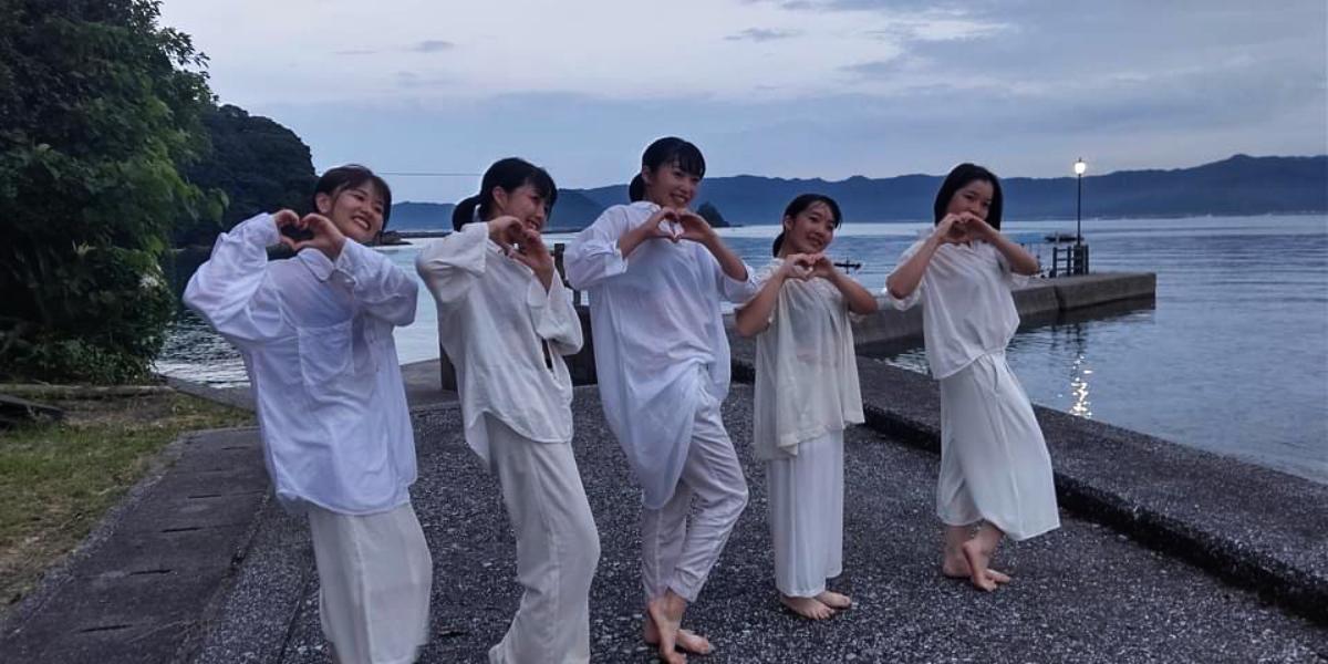 黒島で学生とのコラボPR動画